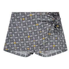 Junior - Divided skirt with an allover print