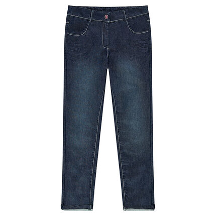 Junior - Worn-effect jeans with pockets