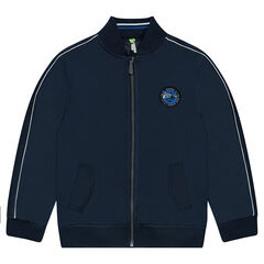 Junior - Windbreaker with stitched badge