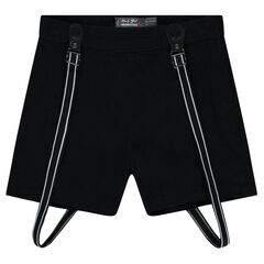 Junior - Baggy, divided skirt-style shorts with straps