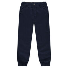 Junior - Cotton pants with tapered ankles
