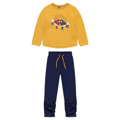 Junior - Fancy Print Fleece Jogger Set