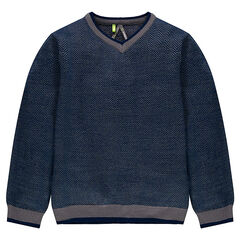 Junior - Chevron V-neck sweater