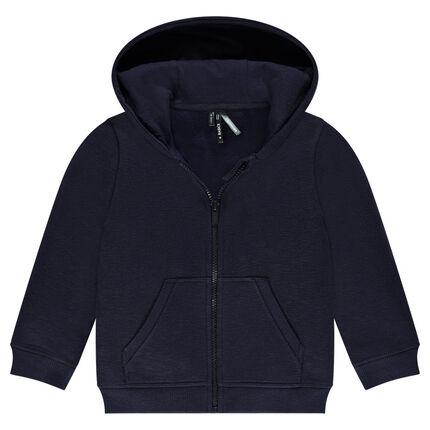Junior - Slub Fleece Hooded Vest