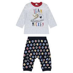 Disney Mickey Long Sleeve Tee and Pants Set