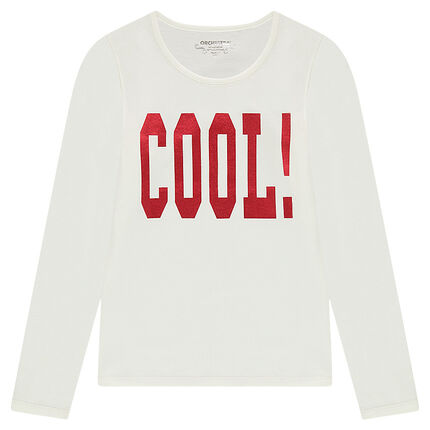 Junior - Long-sleeved tee-shirt with photo print in front