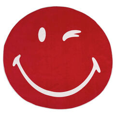 Round ©Smiley beach towel