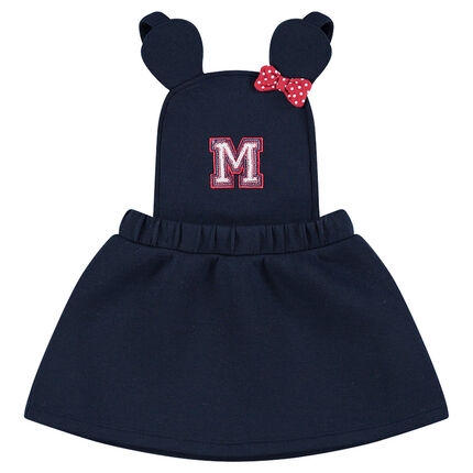 Fleece overall dress with ©Disney Minnie Mouse details