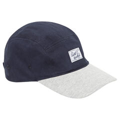 Biolore twill cap with woven label