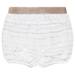 Lace bloomer shorts