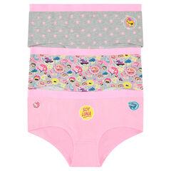 Junior - Set of 3 Disney Soy Luna shorties
