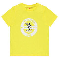 Jersey tee-shirt with a ©Disney Mickey Mouse print