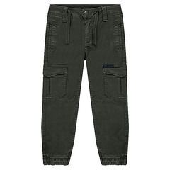 Lyocell pants with multiple pockets