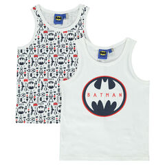 Set of two cotton BATMAN tank tops