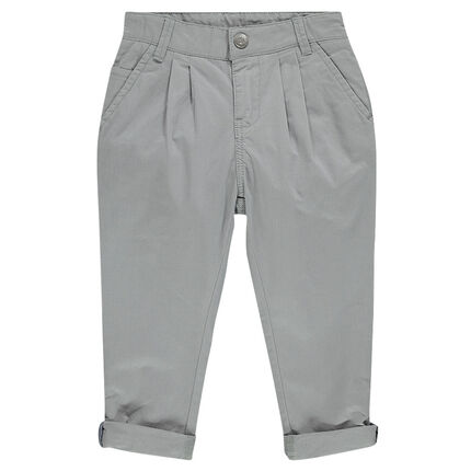 Junior - Herringbone chino pants