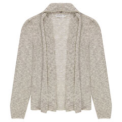 Junior - Twisted knit cardigan