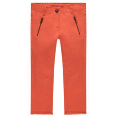 Junior - Plain-colored skinny fit twill pants