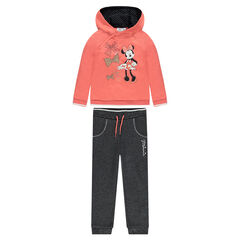 Disney Minnie Mouse fleece sweatsuit ensemble