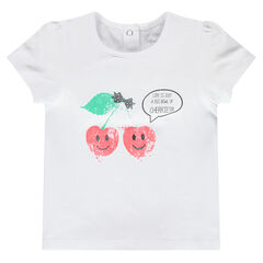 Short-sleeved fashion tee-shirt