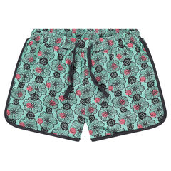 Junior - Jersey shorts with an allover print