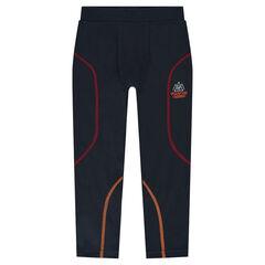 Polyester ski boxer short