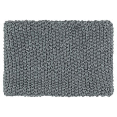 Sherpa-lined knit snood