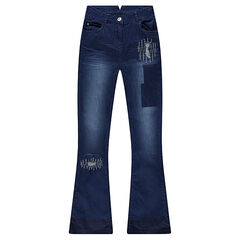 Junior - Distressed flare jeans