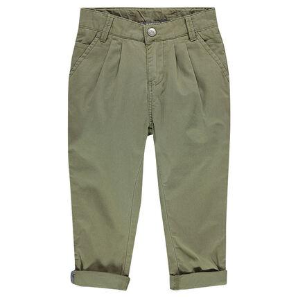 Junior - Herringbone chino pants