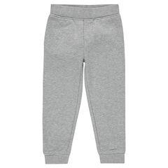 Junior - Plain-colored fleece jogging pants