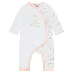 Long jumpsuit for newborns featuring ©Smiley baby