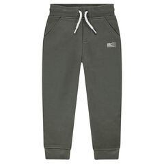 Junior - Heather Sweatpants with Logo Print