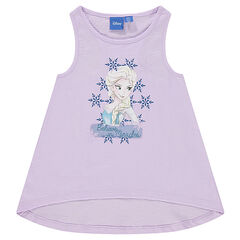 Racerback tank top with Disney Snow Queen print