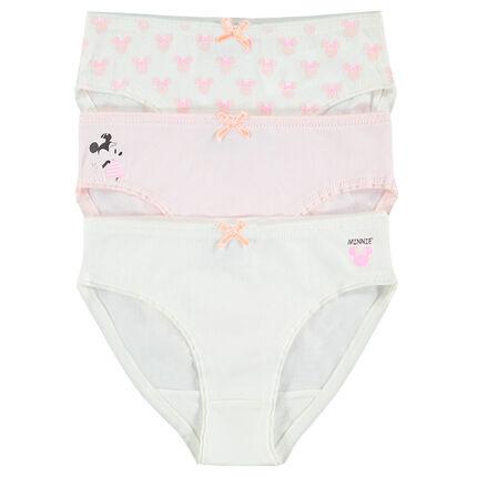 Set of 3 pairs of Disney Minnie underwear