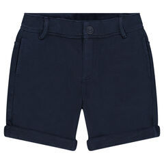 Junior - Overdyed, fleece bermuda shorts