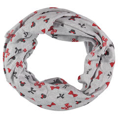 Jersey snood with Disney Minnie Mouse print