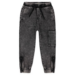 Lightweight sweatpants jogging with pockets