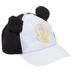 Two-tone cap with ©Disney Mickey Mouse print