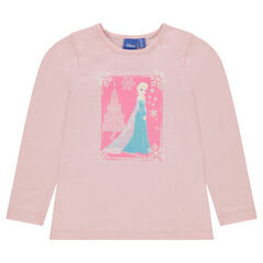 Tee-shirt with Disney Snow Queen print