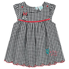 Disney Minnie Mouse short-sleeved gingham tunic