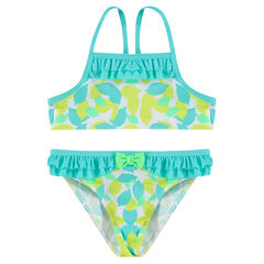 2-piece swimsuit with an allover print