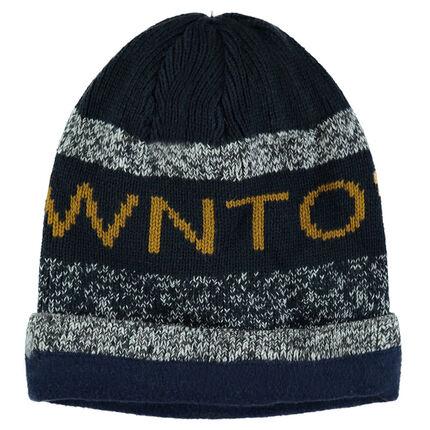 Junior - Microfleece-lined knit cap