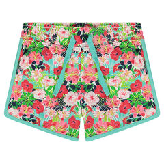 Jersey shorts with an allover print