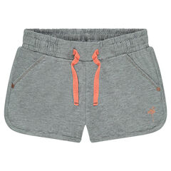 Junior - Plain-colored fleece shorts