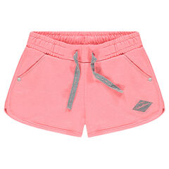 Plain-colored fleece shorts