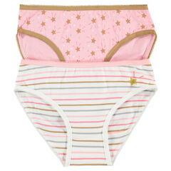 Junior - Set of 2 pairs of starry underwear