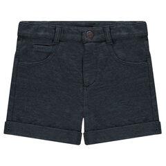 Mesh knit shorts