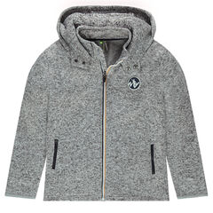 Junior - Brushed Fleece Hooded Vest