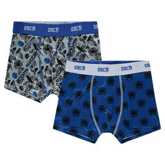 Junior - Set of 2 boxers with all-over print