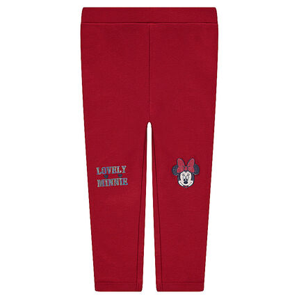 Jersey leggings with ©Disney Minnie Mouse prints