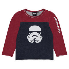 Star Wars ™ two-tone long-sleeved t-shirt print Stormtrooper